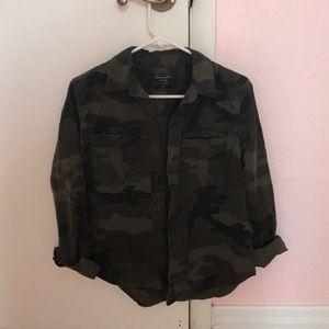 Camo Shirt / Jacket